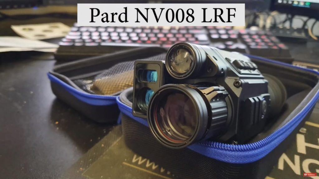 Pard NV008 LRF rifle scope
